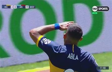 El gol de Wanchope Ábila y ¿festejo desafiante a la tribuna?