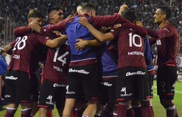 Lanús sueña con la punta de la Superliga pero choca con Huracán