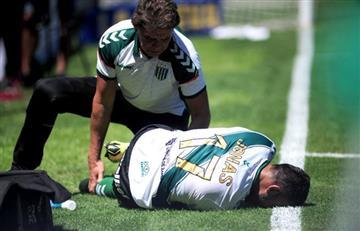 Jonás Gutierrez se rompió el tendón de la rodilla derecha