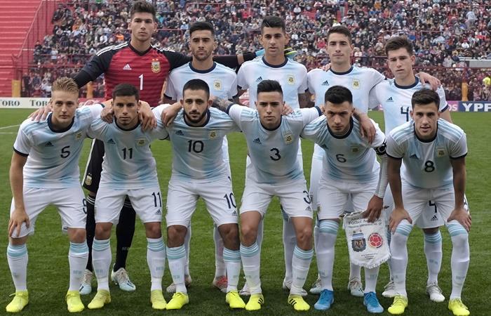 Argentina jugará ante Colombia, Chile, Ecuador y Venezuela el preolímpico. Foto: Twitter
