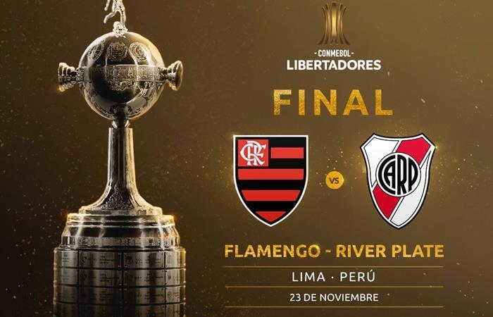 Conmebol devolverá la plata de las entradas a todos los hinchas de River y Flamengo. Foto: Twitter Copa Libertadores