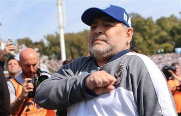 El motivo por el que Diego Maradona evalúa renunciar en Gimnasia