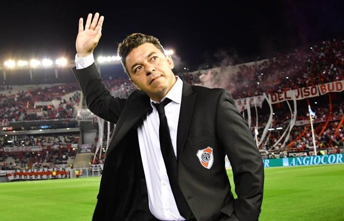 Marcelo Gallardo será entrenador de Barcelona, según Claudio Borghi. Foto: Twitter River