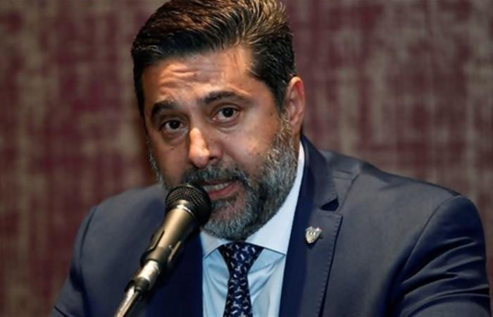 Jorge Amor Ameal chicaneó a Daniel Angelici. Foto: Twitter