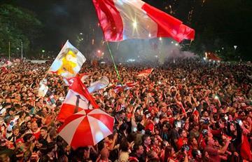 Estudiantes volvió a UNO: fiesta y peregrinación al nuevo estadio Hirschi