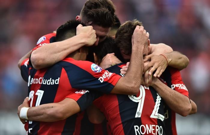 San Lorenzo le ganó 3 a 0 a Argentinos Juniors en el Nuevo Gasómetro. Foto: Twitter