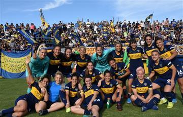 Boca aplastó 10 a 0 a Defensores de Belgrano y es líder invicto