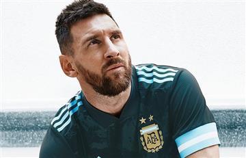 Así es la nueva camiseta suplente de la Selección Argentina