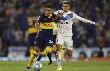 Vélez y Boca igualaron 0 a 0 y el equipo de Alfaro es puntero