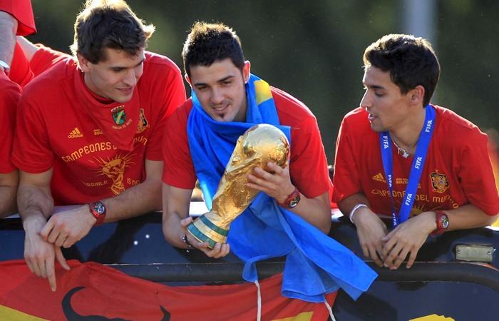 David Villa anunció su retiro del fútbol. Foto: EFE