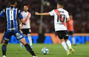 Juan Fernando Quintero fue concentrado para el partido entre River y Estudiantes de Buenos Aires por Copa Argentina