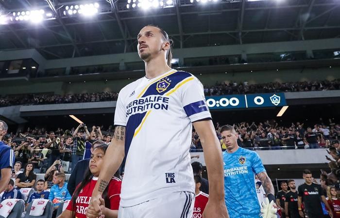 Zlatan Ibrahimovic se despidió de la MLS y vuelve a Europa. Foto: Twitter @LAGalaxy