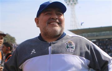 Diego Maradona le dejó un mensaje a Estudiantes de Buenos Aires antes de jugar con River por Copa Argentina