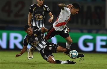 River confirmó la lesión de Enzo Pérez en su hombro izquierdo