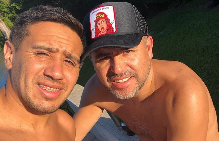 Juan Román Riquelme se reunirá con el oficialismo y Jorge Amor Ameal. Foto: Instagram Cristian Riquelme