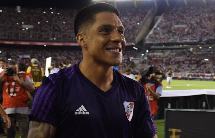 River comenzó a gestionar la renovación de contrato de Enzo Pérez. Foto: Twitter