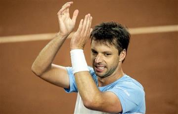 Zeballos: molestia muscular y duda para Copa Davis