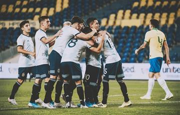 La Sub 23 también le ganó a Brasil: fue 1 a 0 con gol de Capaldo