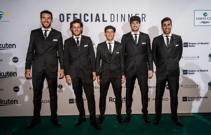 El elogio de Rafael Nadal al equipo de Argentina de Copa Davis. Foto: Twitter