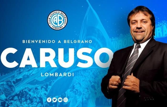 Ricardo Caruso Lombardi es el nuevo entrenador de Belgrano. Foto: Twitter