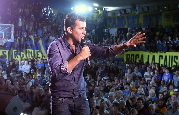 Christian Gribaudo habló tras la decisión de Juan Román Riquelme. Foto: Twitter