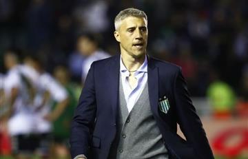Hernán Crespo, tras su reunión con San Lorenzo: