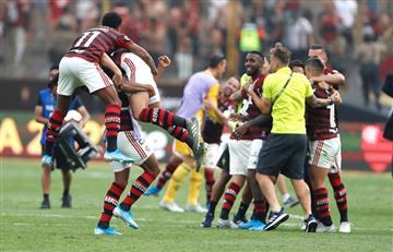 Flamengo le ganó 2 a 1 a River y es campeón de la Copa Libertadores