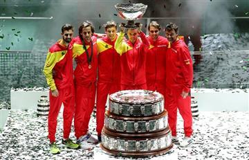 España le ganó a Canadá y es el campeón de la nueva Copa Davis