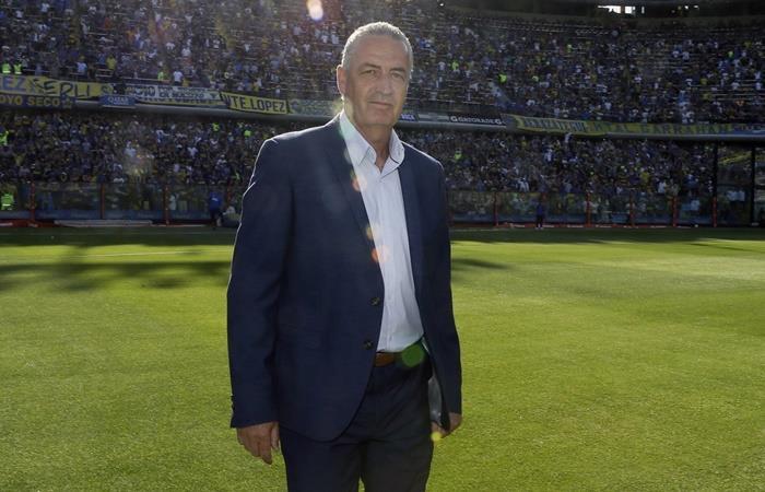 Gustavo Alfaro habló de su futuro en Boca y dejó un mensaje claro. Foto: Twitter Boca