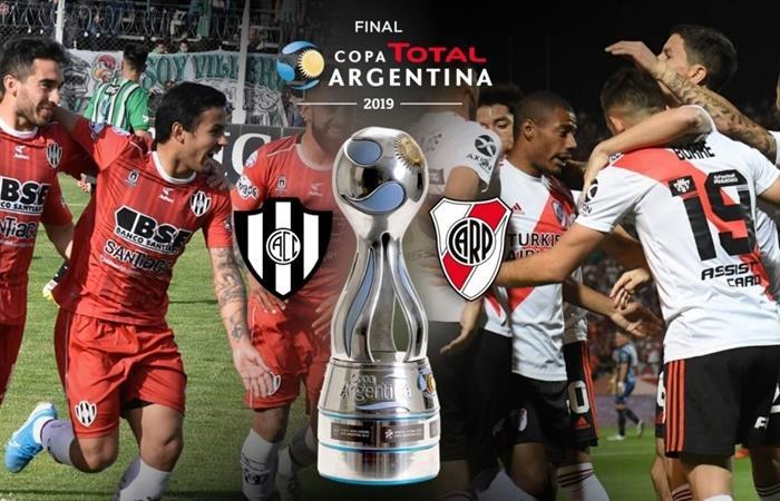 La final entre River y Central Córdoba se jugará el 13 de diciembre. Foto: Twitter