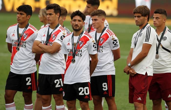 La derrota de River cambiará la fecha de la final de la Copa Argentina. Foto: EFE