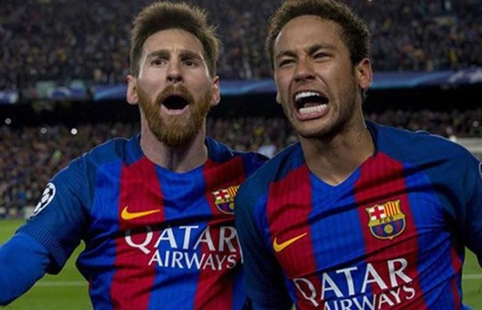 Lionel Messi le confesó a Neymar que si volvía al club, en dos años le dejaba su lugar. Foto: Twitter
