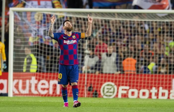 Lionel Messi juega su partido 700 con la camsieta de Barcelona. Foto: Twitter