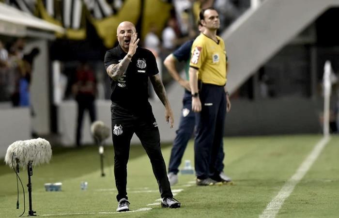 Jorge Sampaoli en la mira de Flamengo ante una posible salida de Jorge Jesús. Foto: Twitter