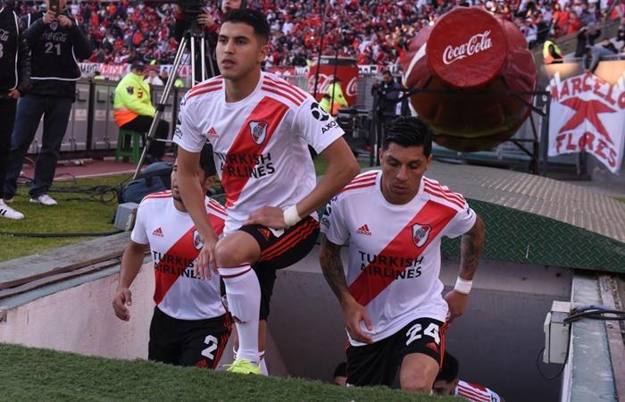 Marcelo Gallardo habló de la salida de Palacios. Foto: Twitter River Plate