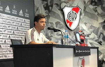 """Gallardo calmó los rumores de salida: """"Hablaré cuando le tenga que hablar"""""""