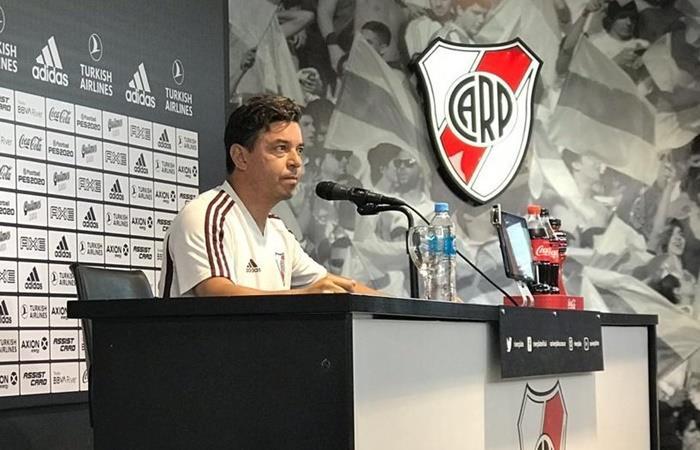 Marcelo Gallardo calmó los rumores de una posible salida de River. Foto: Twitter