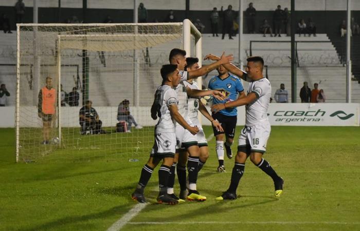 Sarmiento de Junion vs Gimnasia de Jujuy por la fecha 15 de la Primera Nacional. Foto: Twitter