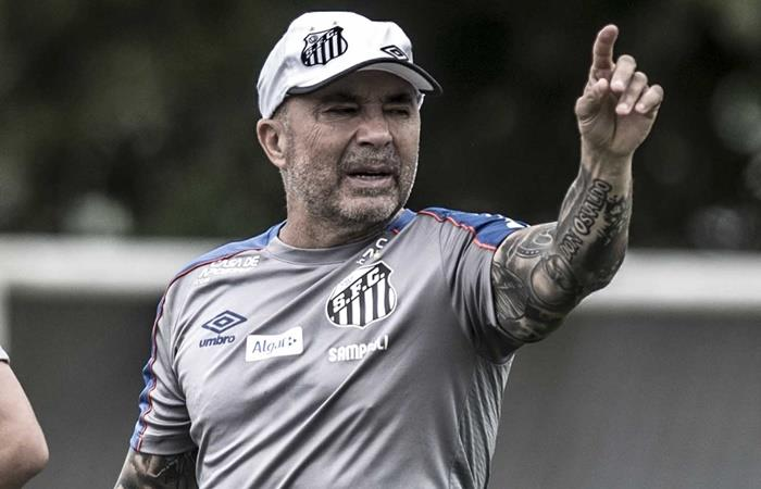 Jorge Sampaoli habló de los rumores de Palmeiras. Foto: Twitter