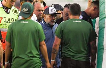 """Maradona contra Espinoza: """"Nos robó. Es un mentiroso y un cobarde"""""""