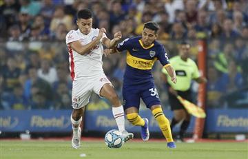 Boca y Argentinos igualaron 1 a 1 en una Bombonera caliente
