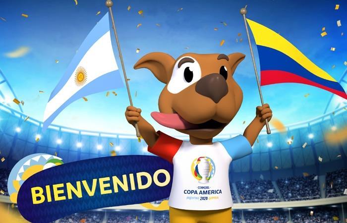 Conmebol presentó la mascota de la Copa América 2020. Foto: Twitter Copa America