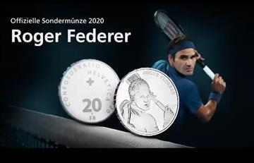 Roger Federer tendrá su propia moneda oficial en Suiza