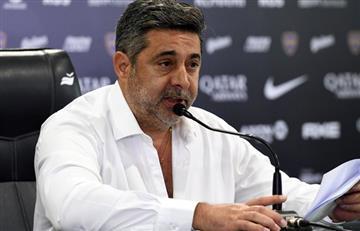 """Angelici, duro con Riquelme: """"Siempre dividió al vestuario y a la dirigencia"""""""
