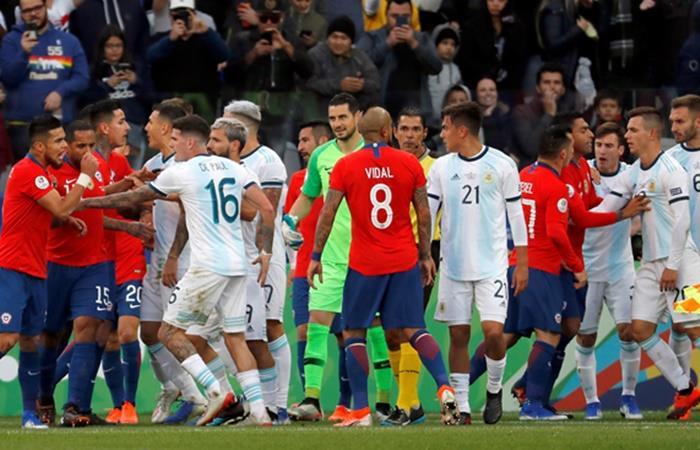 Argentina y Chile jugarán el partido inaugural el 12 de junio en el Monumental. Foto: EFE
