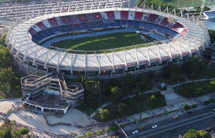 El Estadio Metropolitano Roberto Meléndez de Barraquilla es la sede de la final de la Copa América 2020. Foto: Twitter