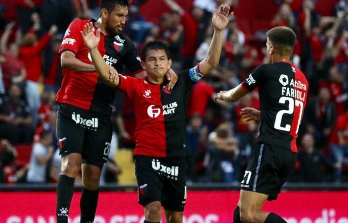 Colón vs Aldosivi por la fecha 16 de la Superliga. Foto: Twitter Colon