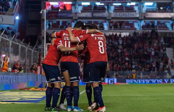 Independiente vs Banfield por la fecha 16 de la Superliga. Foto: Twitter