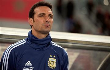 """Scaloni y el tridente Messi, Martínez y Agüero: """"Mi idea es ponerlos siempre"""""""