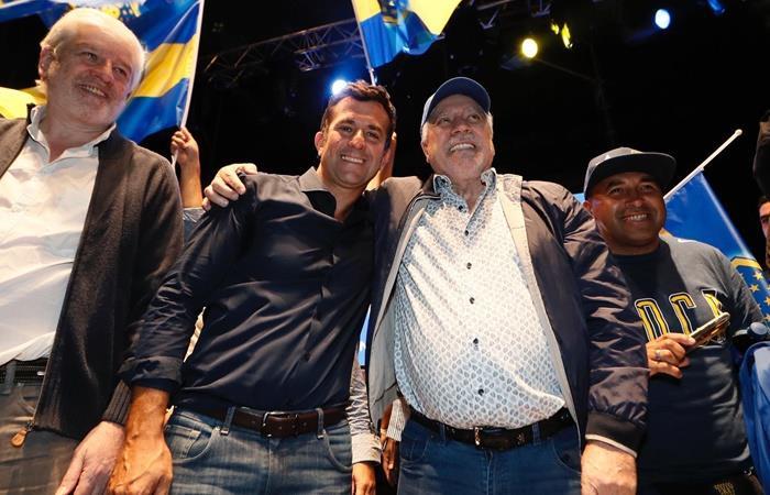 Christian Gribaudo criticó a Juan Román Riquelme y Jorge Amor Ameal. Foto: Twitter
